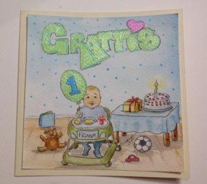 Personligt födelsedagskort